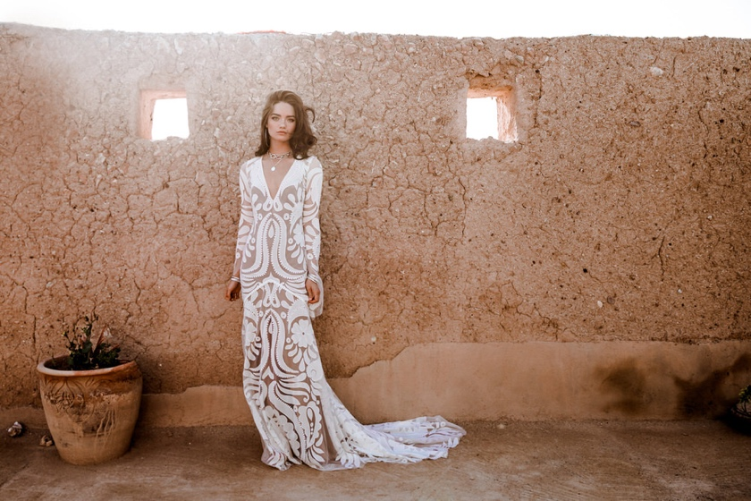 Layla Dress - The Wild Heart Collection  Images By Madly Studio