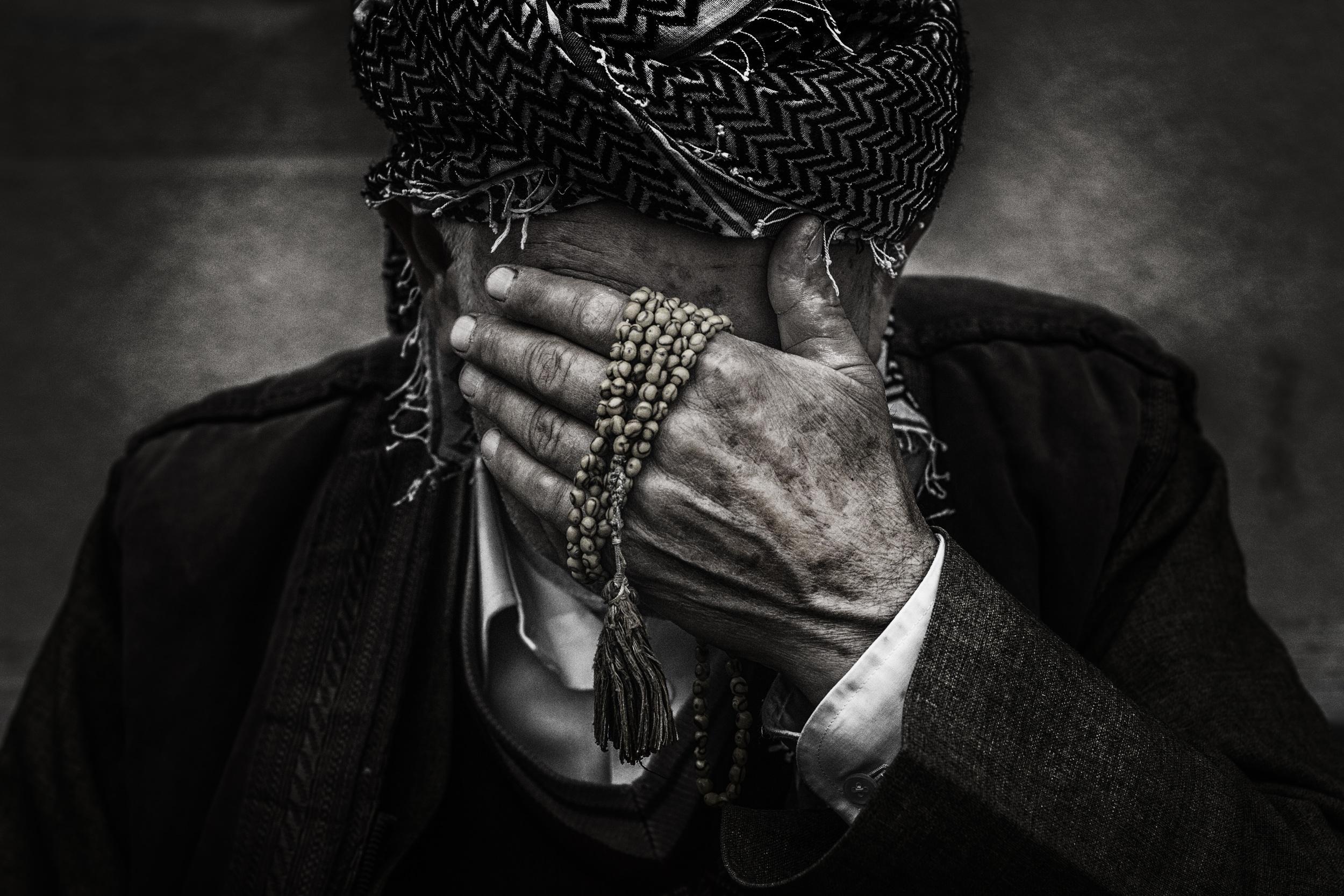 Black and White Prayer Guy.jpg