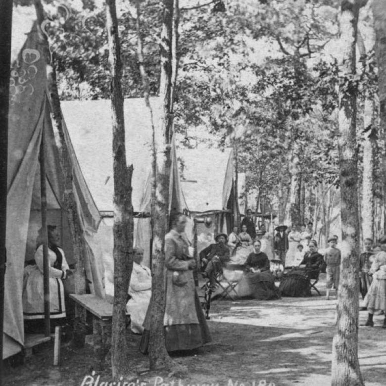Ocean Grove in the 1870s.