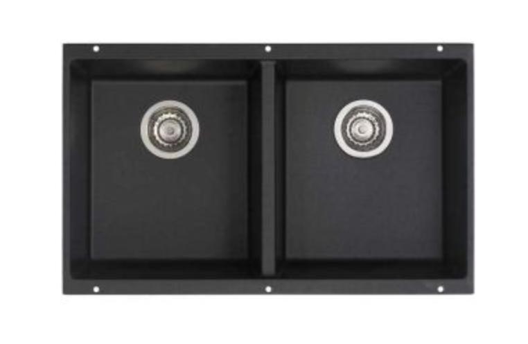 "Blanco Precis 29-3/4"" Double Basin Undermount Kitchen Sink, $406.27"