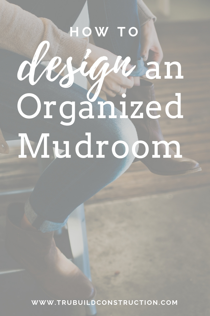 How to design and organized mudroom