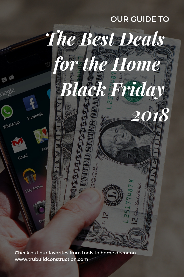Our guide to the best deals for the home Black Friday 2018