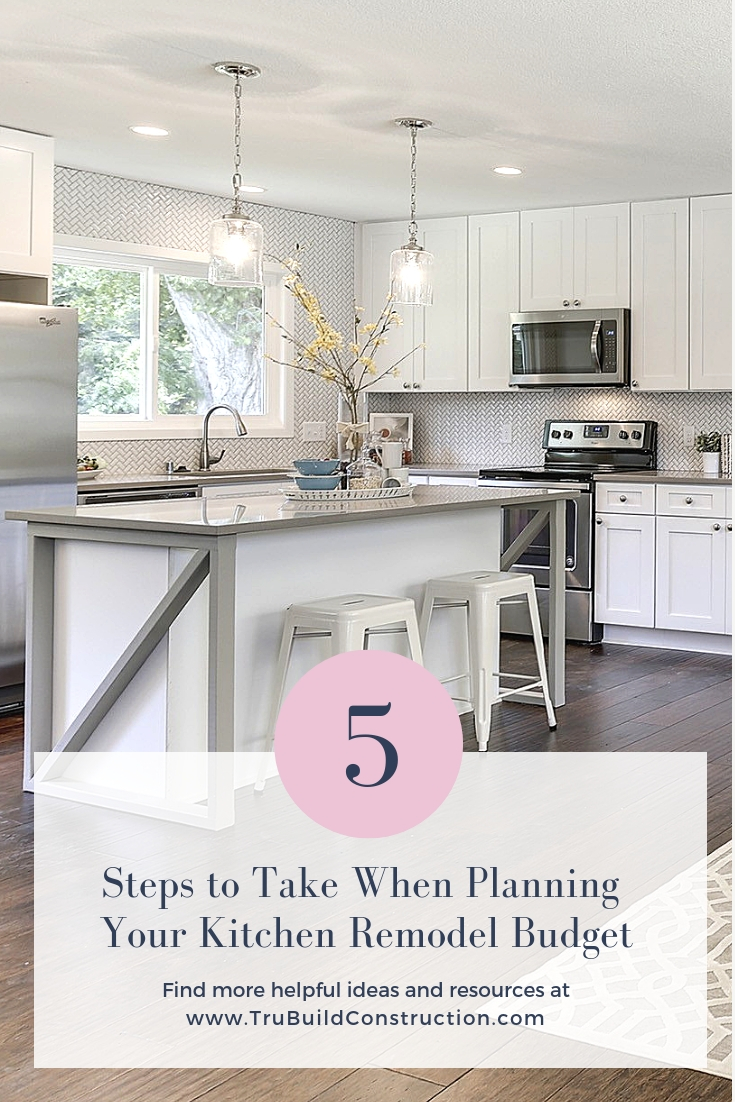 5 Steps to Take When Planning Your Kitchen Remodel Budget