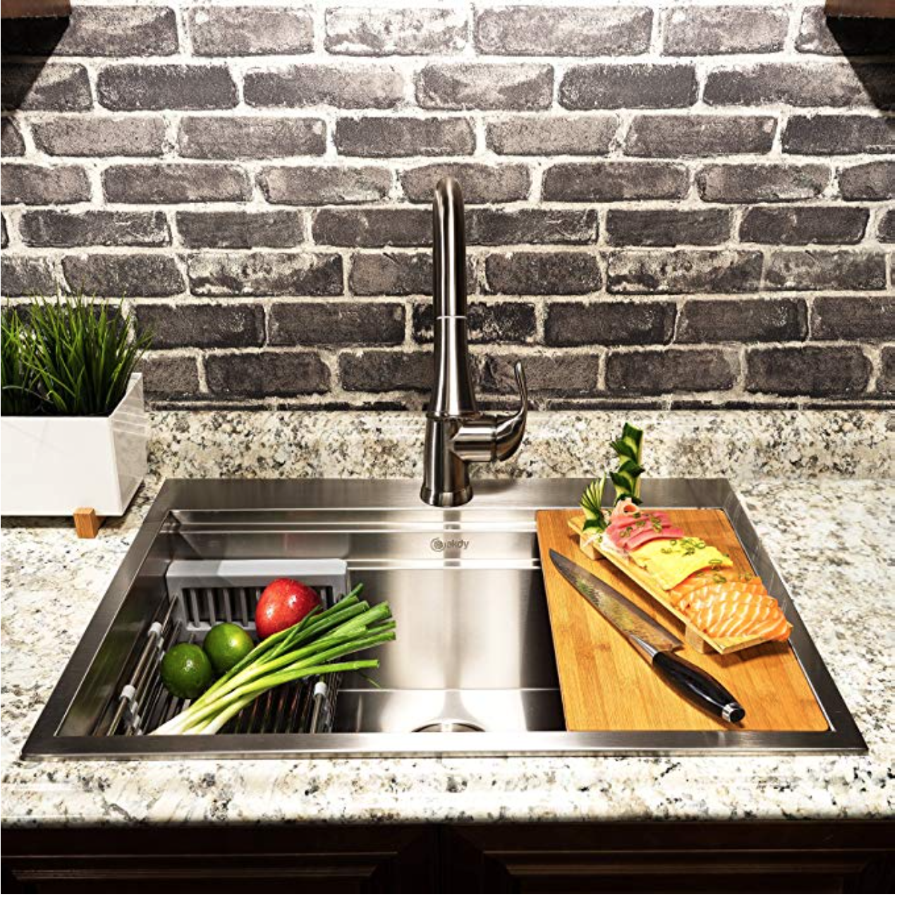Drop-In Top Mount Stainless Steel Kitchen Sink