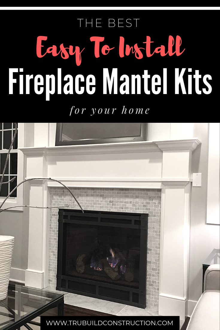 The Best Easy To Install Fireplace Mantel Kits For Your Home