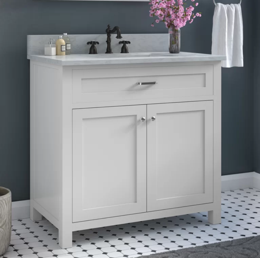 "Cecilton 36"" Single Bathroom Vanity Set, $709"