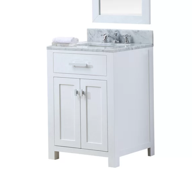 """Minnetrista 30"""" Single Bathroom Vanity Set, $606"""