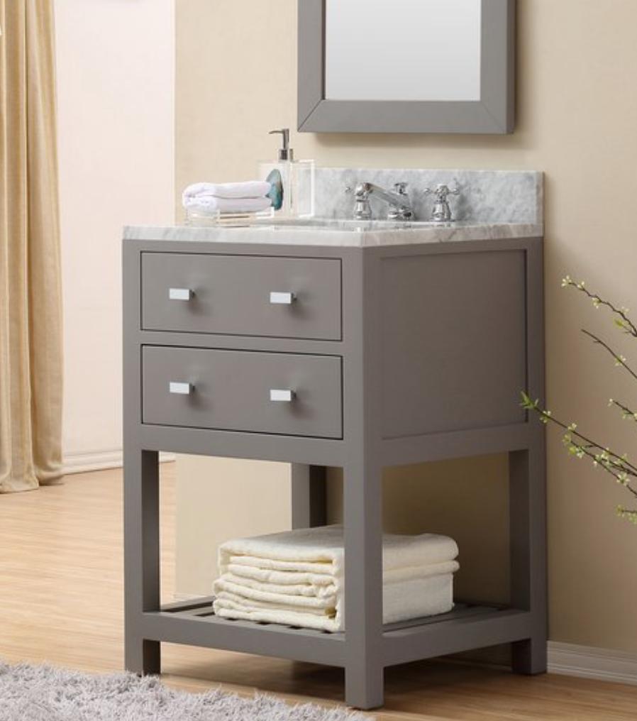 """Berghoff 24"""" Single Bathroom Vanity Set, $729"""