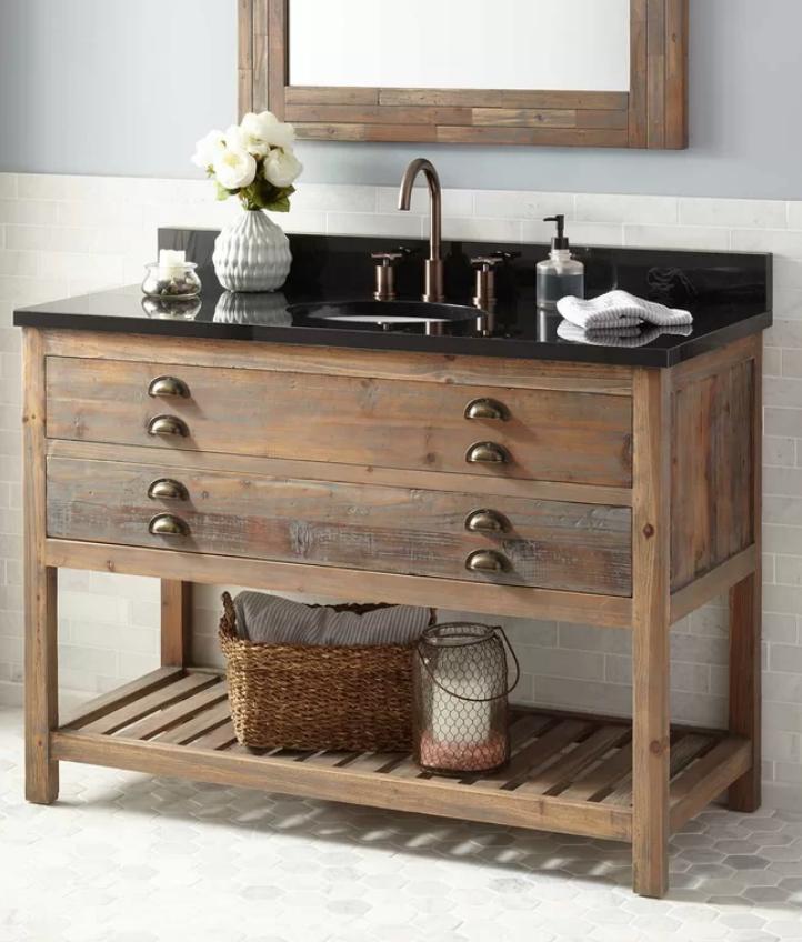 """Benoist 49"""" Single Bathroom Vanity Set, $2099"""