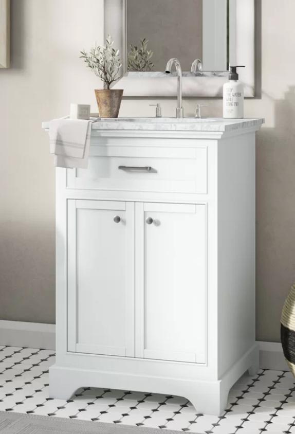 """Darry 24"""" Single Bathroom Vanity, $529"""
