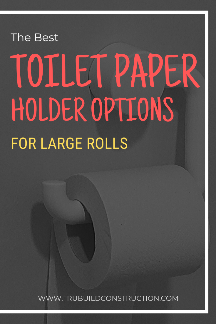 The Best Toilet Paper Holder Options For Large Rolls