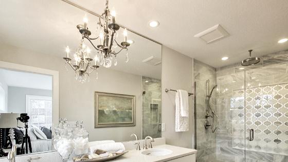Small Chandeliers For Your Bathroom, Bathroom Chandelier Lighting