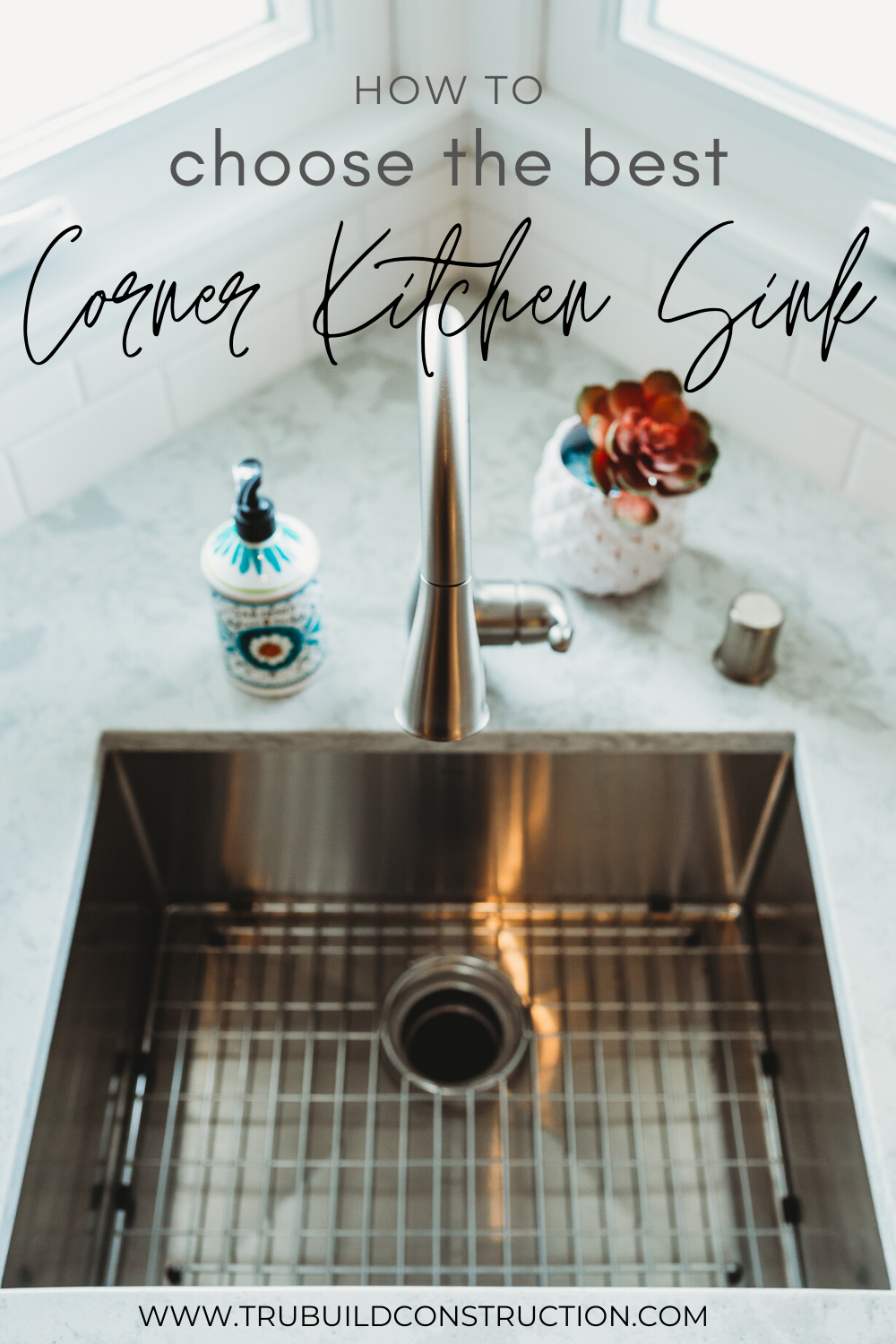 How To Choose The Best Corner Kitchen Sink Trubuild Construction