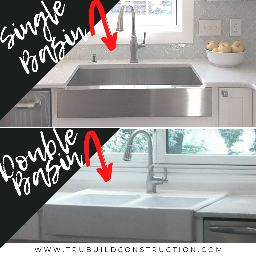 The Best Retrofit Farmhouse Sinks For Your Kitchen Trubuild Construction