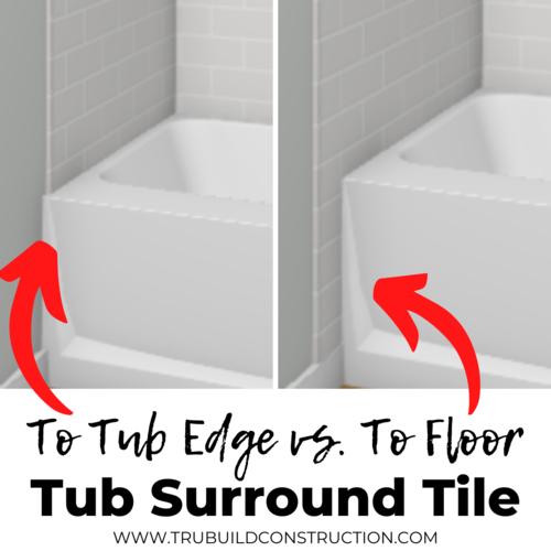 Creative Bathtub Tile Ideas And, Tub Tile Surround