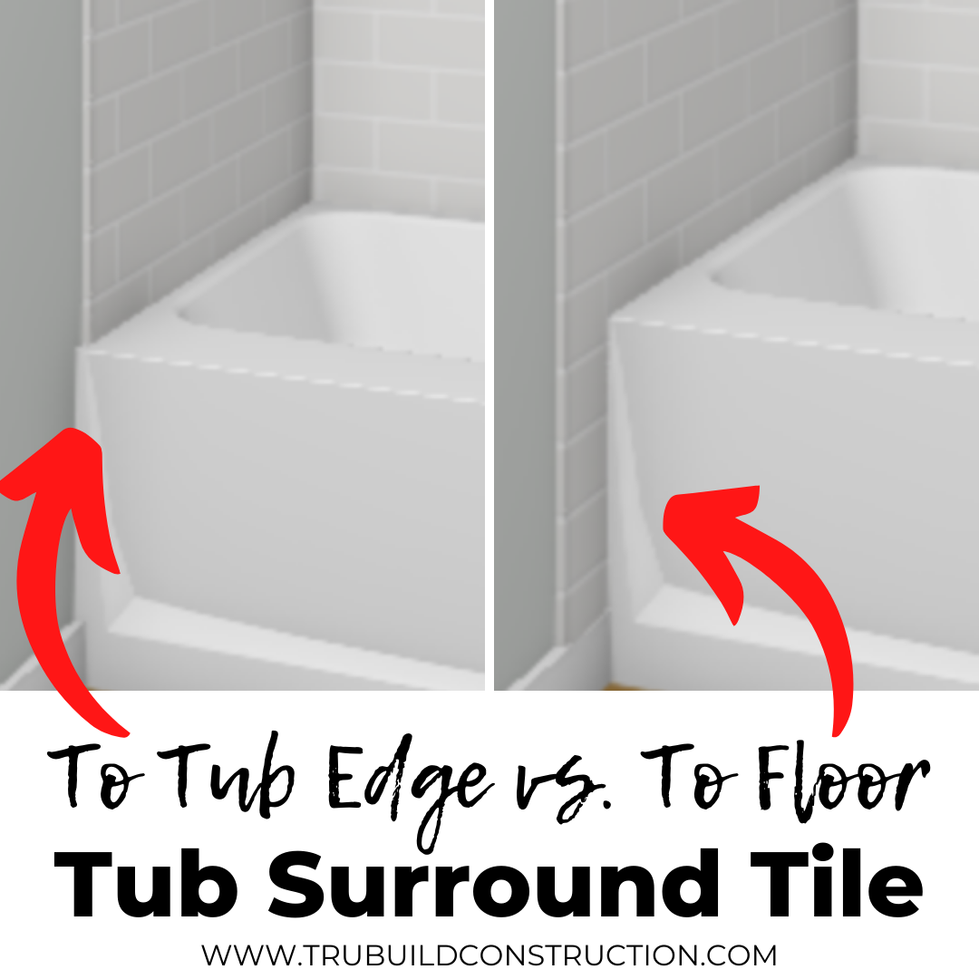 Creative Bathtub Tile Ideas And Inspiration — TruBuild Construction