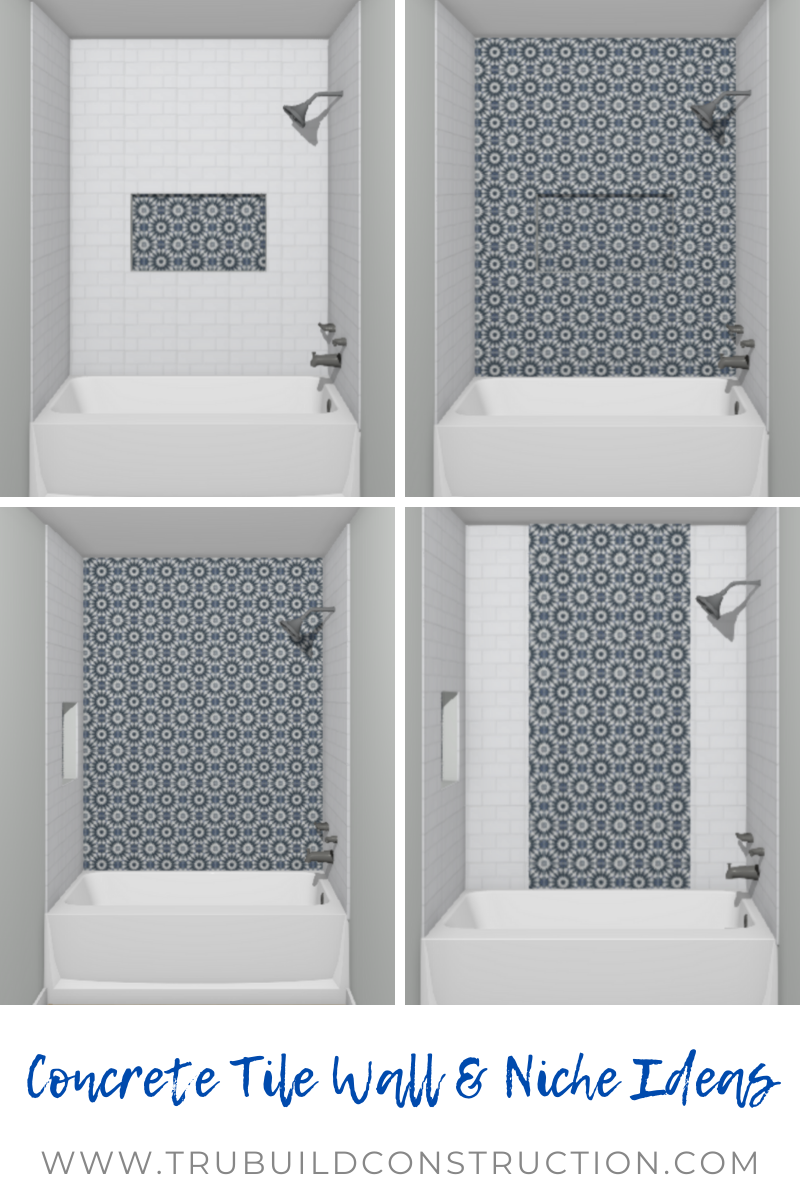 Creative Bathtub Tile Ideas And Inspiration Trubuild Construction