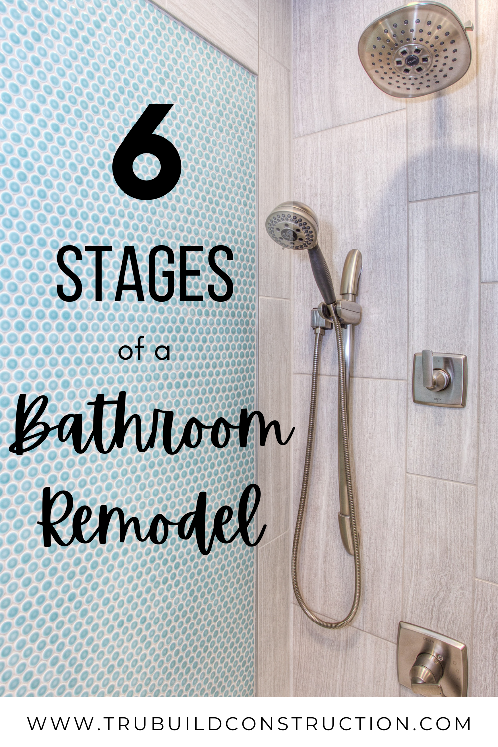 6 Stages Of A Bathroom Remodel Trubuild Construction
