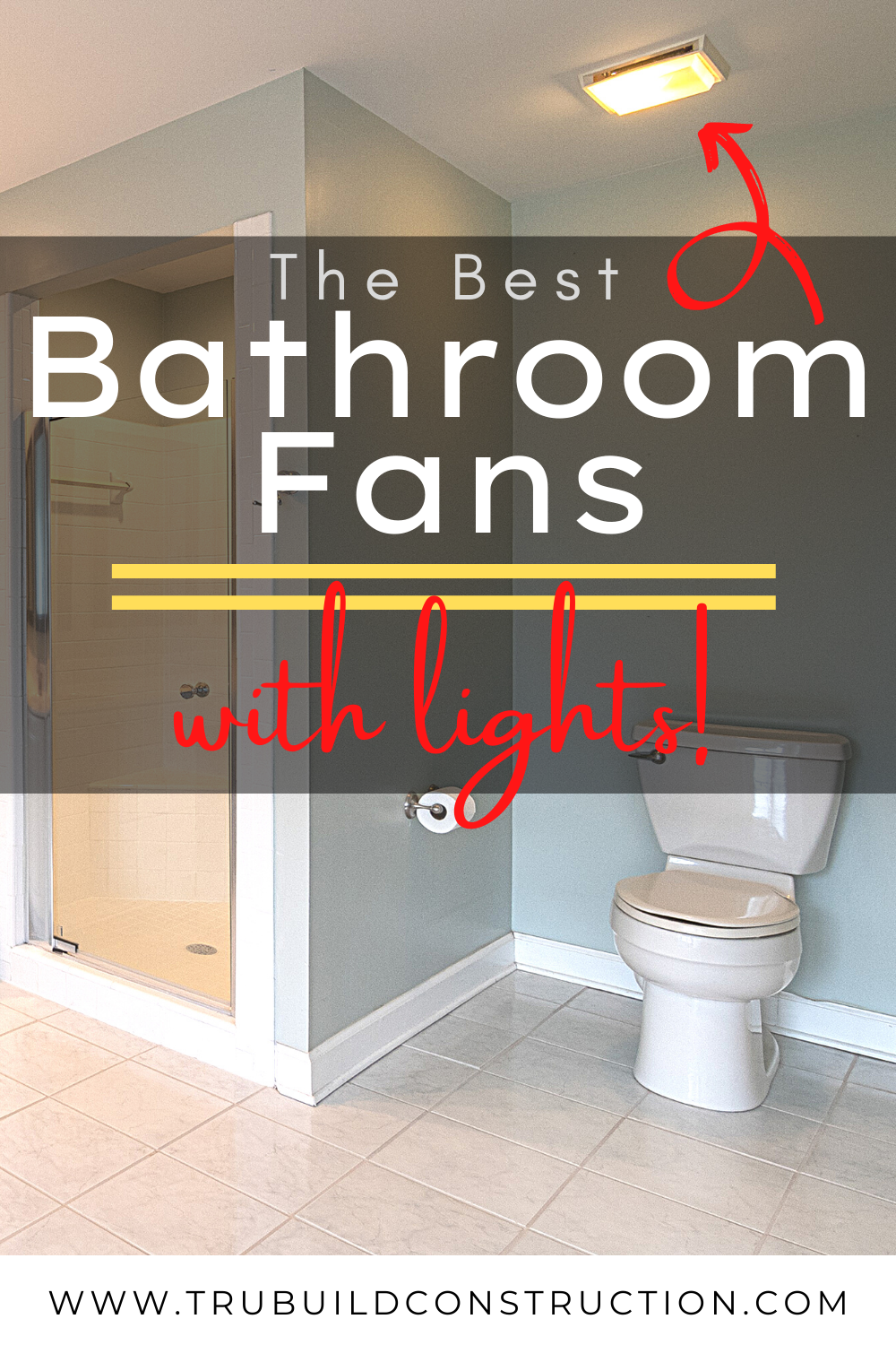 The Best Bathroom Fans With Lights For Your Home — TruBuild