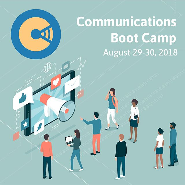 Only 2 more days to register for the CRFT New Media Communications Boot Camp! Join us for one workshop or them all! Space is limited, so be sure to reserve your spot by following the link in our profile today!