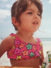 Baby Megan: Before she knew what was ahead of her.