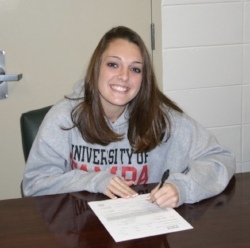Signing Day! The day I officially became a soccer player for the University of Tampa.