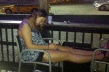 This is an example of what Day 31 looked like: Me, passed out at the bar.