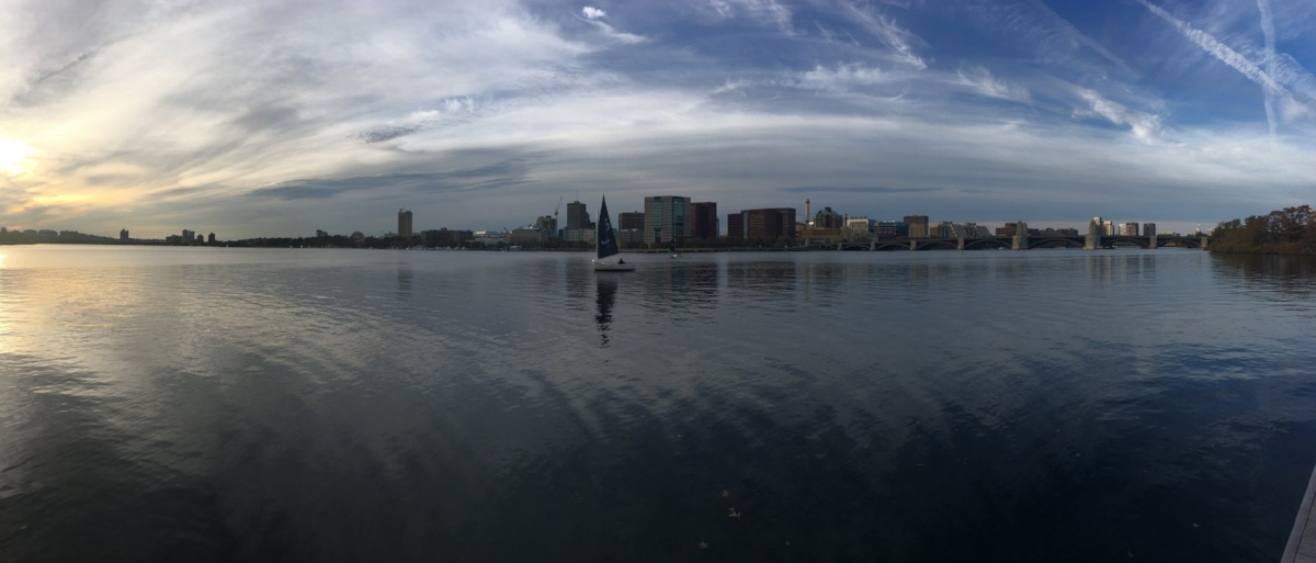 Boston was a beautiful city, and exactly what the 'doctor prescribed'.