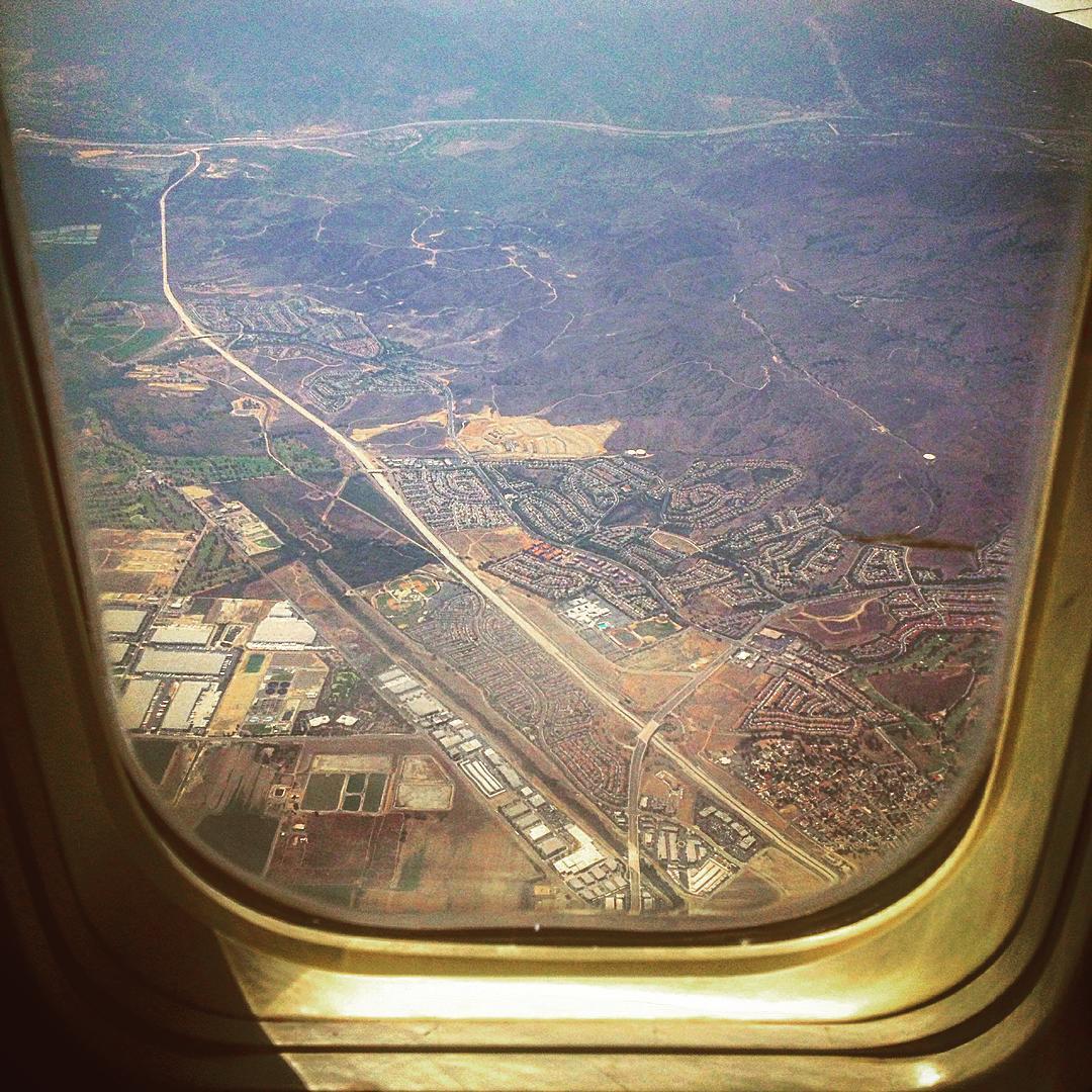 Hi California, Long Time No See.  Let's get reacquainted.    (at Los Angeles International Airport (LAX))