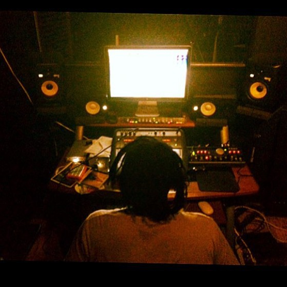 Workflow in the Stu. #kooleyhigh  (at Brightlady Studios )