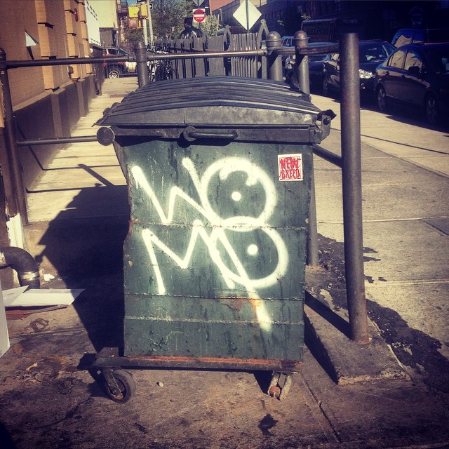 One Mans Trash…  #womp #Brooklyn #collectthemall #brooklynstreetart