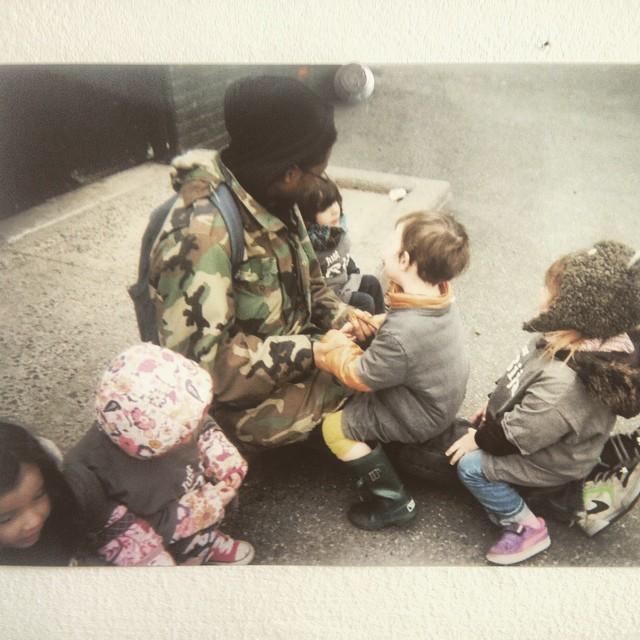 Kooley love the kids.  #kooleyhigh