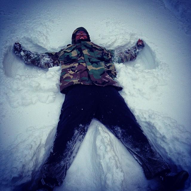 Charlie's Angel #kooleyhigh #brooklyn #winter #snowpacolypse