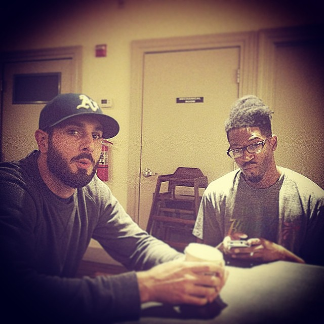 We handle meetings and what not.  Repost from @thesinopsis #kooleyhigh #raleigh #building #droppingalbumsin2015 #hiphop
