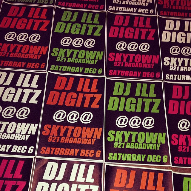 @djilldigitz spinning at Skytown Tonight in Brooklyn. (921 Broadway) #ahood #fun #brooklyn #kooleyishigh