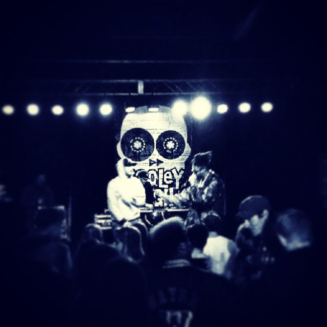 Tonight at the Cats Cradle in NC.  Repost from Woodville.   #kooleyishigh #NCMC #logo #funtimes #latergram