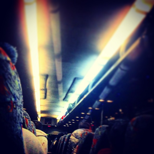 Chinatown Bus Life.   #travels #bus #raleigh #SomeSleepTillBrooklyn #kooleyhigh