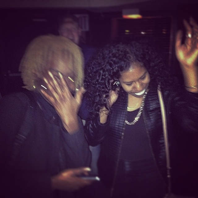 That time when @blackbettyent and @cheebacruz song came on.  Dude in the background was Lovin It.  #happybirthday #brooklyn #ouchere #turnt #photobomb #igers