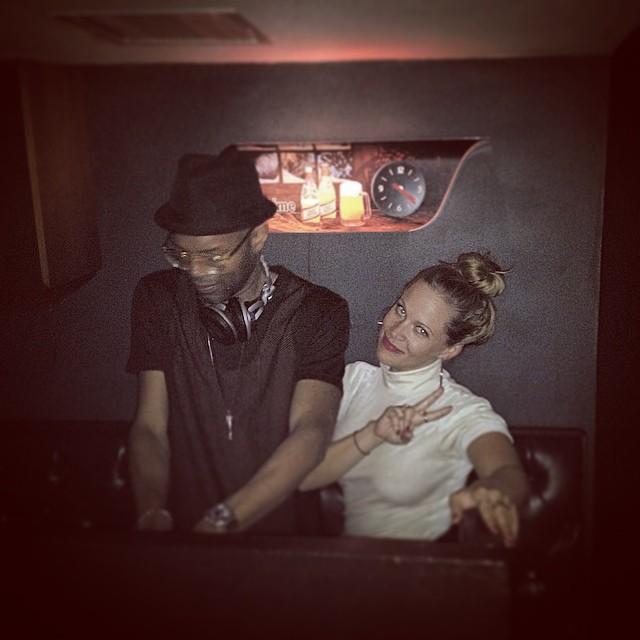The homies @clairehugstable and @kds_of_ballerseve whilest I dance to Chaka Khan. #brooklyn #djs #ballerseve #kooleyisdrunk #digitzbday #latergram