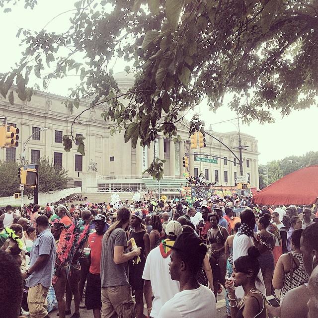 Labor Day in Brooklyn…  Parade Life.  #kooleyishigh #brooklyn
