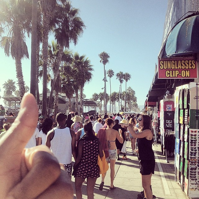 And last but not least… Venice Beach.  #california #kooleyisTan