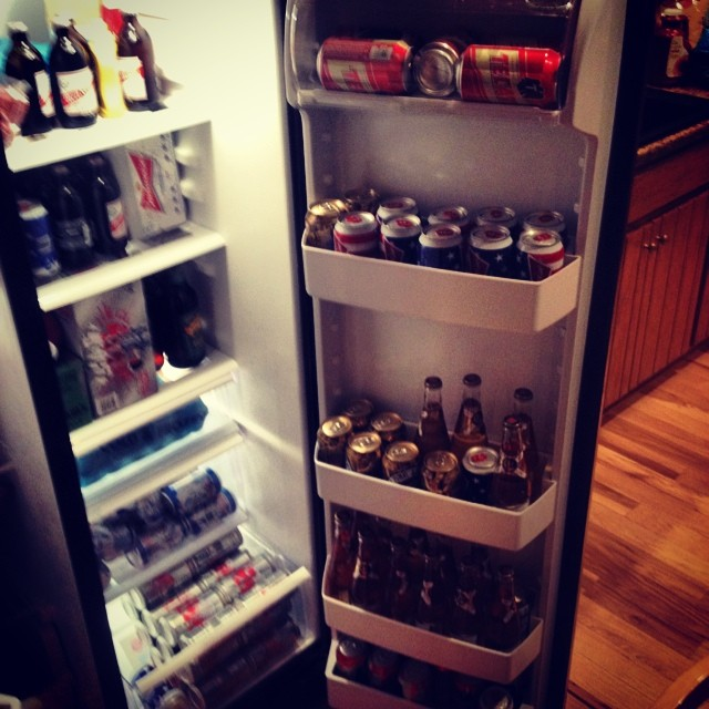 All Beer Everything.  #kooleyishigh #bachelorparty