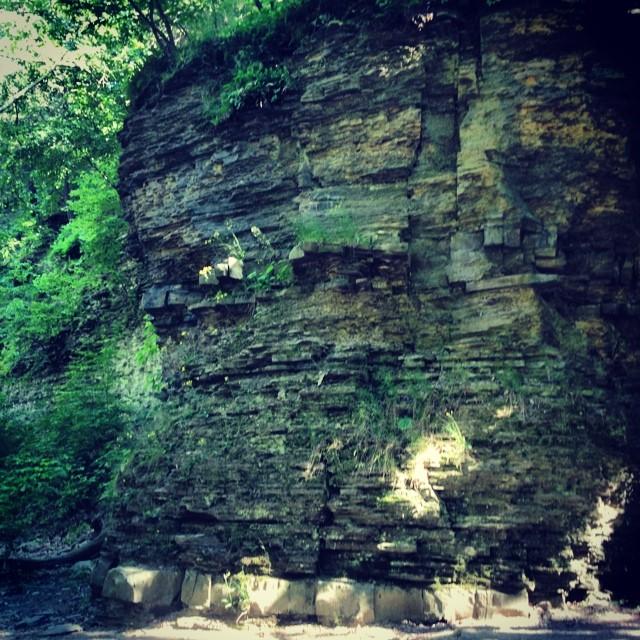 A slab if earth.  #upstate