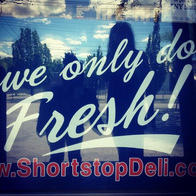 Ouchere in Ithaca, NY.  #fresh #shortstop #upstate #kooleyishigh