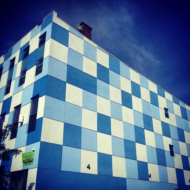 Sky Colored Buildings #brooklyn #finallysummer #carolinablue