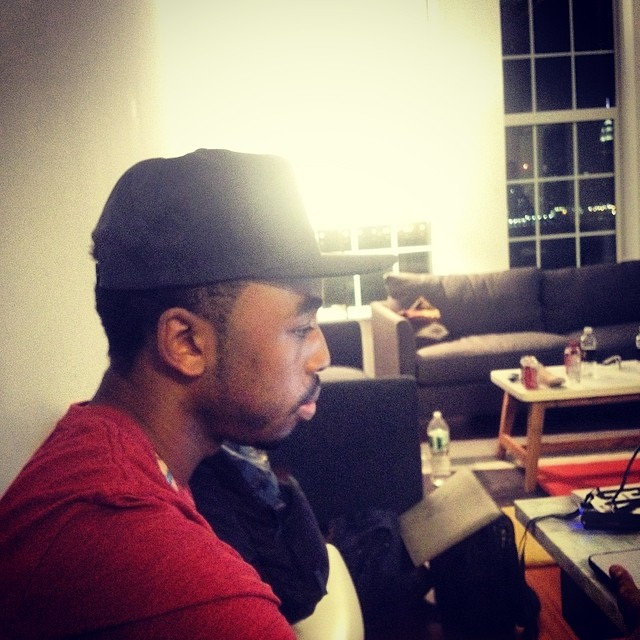 Chilling with king Mez in Brooklyn