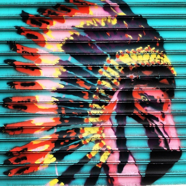 Chiefin. #brooklyn #streetart