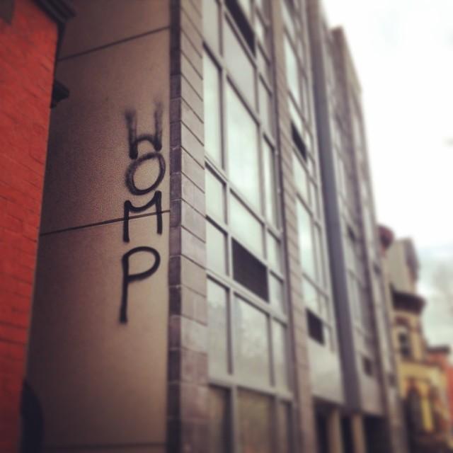 He's sooo ouchere.  #womp #streetart #brooklyn