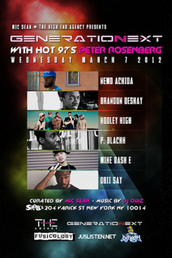 If youre in NYC… Come by and check out my crew rocking at SOBs!!!!!