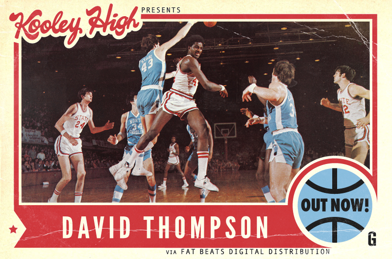 godfatherofsol :     Kooley High presents  David Thompson     OUT NOW